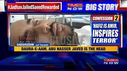 LeT Terrorist's Shocking Admission, Reveals Terror Plot Of Daura-E-Aam Camp