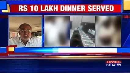Suresh Kumar, Karnataka BJP Leader On State Govt's Lavish Dinner Party