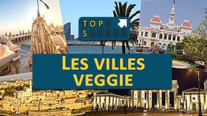 TOP 5 : Les villes VEGGIE !