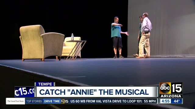 Annie musical comes to the Valley