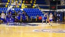 Avant Match avec Rod Odom, Cedevita Zagreb vs Levallois Metropolitans