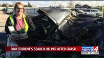 Student Looking for 'Guardian Angel' Who Saved Her After Car Accident