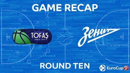 7DAYS EuroCup Highlights Regular Season, Round 10: Tofas 76-80 Zenit
