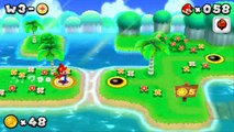 New Super Mario Bros. 2 (3DS) - All Koopaling and Bowser Boss Fights (All Castle Bosses) (HD)