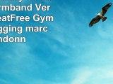 Samsung Galaxy S6 Edge Sport Armband Vert GBOS SweatFree Gym Courir Jogging marche