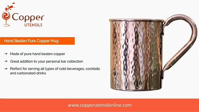 Copper Moscow Mule Mugs – Copper Wine- Beer Mugs