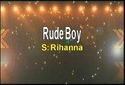 Rihanna Rude Boy Karaoke Version