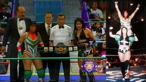"Dark Angel ""Sarah Stock"" vs Marcela for the vacant CMLL World Women's Championship 