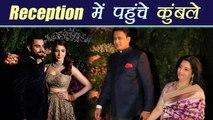 Virat Kohli Anushka Sharma: Anil Kumble attends Virat-Anushka Mumbai reception | Filmibeat