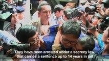 Myanmar court remands Reuters journalists for 2 more weeks (2)