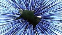 Parodie de Leia volant dans l'espace dans Star Wars the Last Jedi !!
