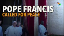 """Francis called for """"Peace for Jerusalem and for all the Holy Land"""""""