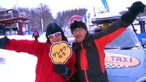 新型スバルXVがスキー場で激走! SUBARUゲレンデタクシー new subaru xv! subaru gelende taxi