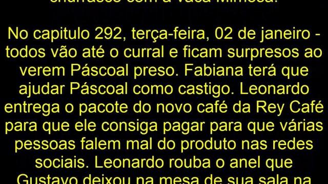 CARINHA DE ANJO 01⁄01⁄18 À 05⁄01⁄2018 JANEIRO capítulo Resumo semanal Completo novela
