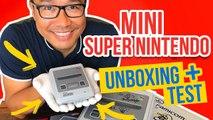 SUPER NINTENDO Classic Mini : Unboxing + Test de la Console !
