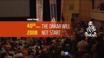 40th edition - N°36 - 2008: The Dakar will not start - Dakar 2018