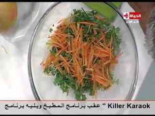 برنامج المطبخ - سلطة نودلز بالخضروات - الشيف يسري خميس - Al-matbkh