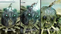 SHADOW OF THE COLOSSUS : PS2 Vs PS3 Vs PS4