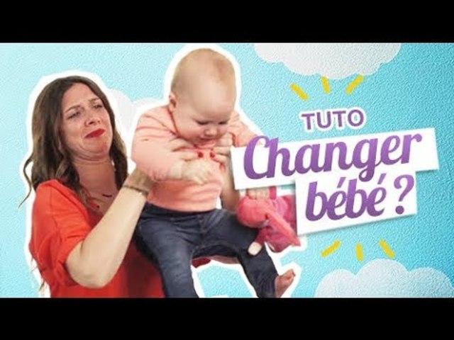 TUTO : Comment changer la couche d'un Bébé