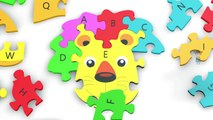 Learn ABC with wooden toy Learn A to Z Learn Alphabetical Letter for kids   Kids Learning Video