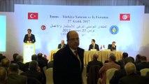 Tunus-Türkiye Yatırım ve İş Forumu - Nihat Zeybekci (1) - TUNUS