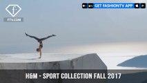 Amanda Bisk, Patrick Beach, and Thomas River H&M Sport Collection Fall 2017 | FashionTV | FTV