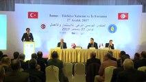 Tunus-Türkiye Yatırım ve İş Forumu - Nihat Zeybekci (2) - TUNUS