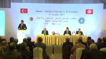 Tunus-Türkiye Yatırım ve İş Forumu - Nihat Zeybekci (2)