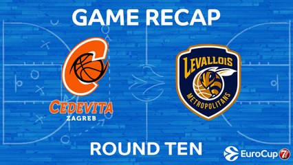 7Days EuroCup Highlights Regular Season, Round 10: Cedevita 94-79 Levallois