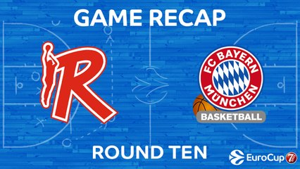 7DAYS EuroCup Highlights Regular Season, Round 10: Reggio Emilia 90-82 Bayern