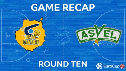 7DAYS EuroCup Highlights Regular Season, Round 10: Gran Canaria 128-129 ASVEL