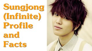 INFINITE Sungjong Profile and Facts | KPOP Infinite