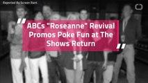 "ABCs ""Roseanne"" Revival Promos Poke Fun at The Shows Return"