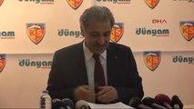 """Kayserispor Başkanı Erol Bedir: """"Kayserispor Toplama Kampı Değil"""""""