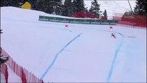 Ski : Le Polonais Pawel Babicki perd un ski et poursuit sa descente !