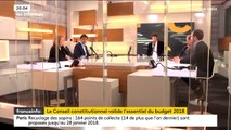 """Validation du budget : """"C'est une bonne nouvelle pour le gouvernement, c'est la preuve du professionnalisme de cette majorité"""" Bruno Le Maire, ministre de l'Économie"""