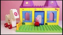 Peppa Pig Castle Building Blocks Construcciones Peppa Pig Castillo Princesas Princess Peppa Pig Toy , Cartoons animated movies 2018