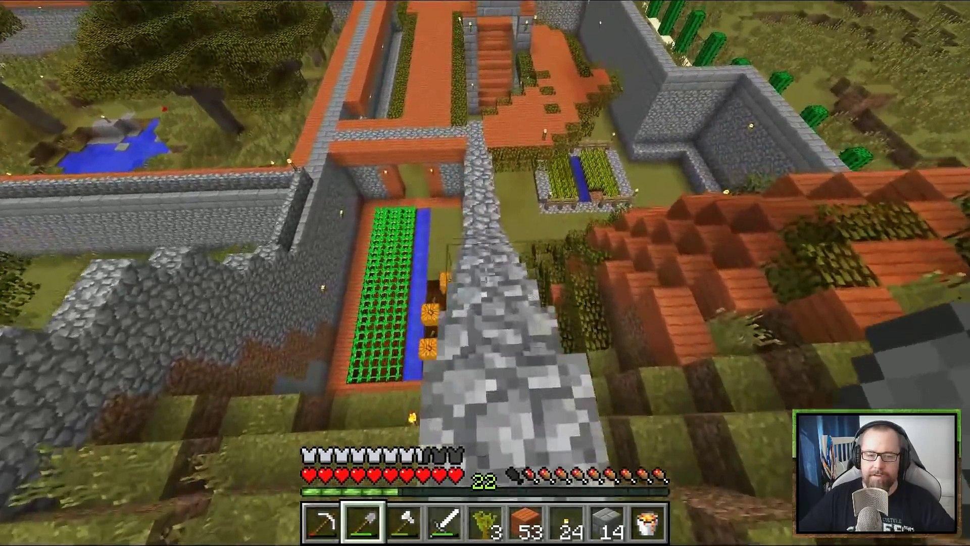 Minecraft z Mikołajem (#15) Plany budowlane i przygody z lawą