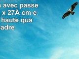 Hama Cadre Sevilla 30x 40cm avec passepartout 20x 27cm en verre de haute qualité