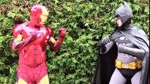 IRON MAN vs BATMAN & CATWOMAN - Real Life Superhero Movie - TheSeanWardShow | Superheroes | Spiderman | Superman | Frozen Elsa | Joker