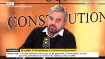 """En validant l'essentiel du Budget 2018, le Conseil constitutionnel """"manque un peu d'audace"""", dit Alexis Corbière (LFI), qui pointe un """"budget injuste"""""""