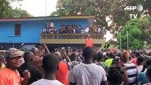 Liberia: Weah en pleurs après l'annonce de sa victoire