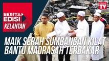 Maik serah sumbangan kilat bantu madrasah terbakar