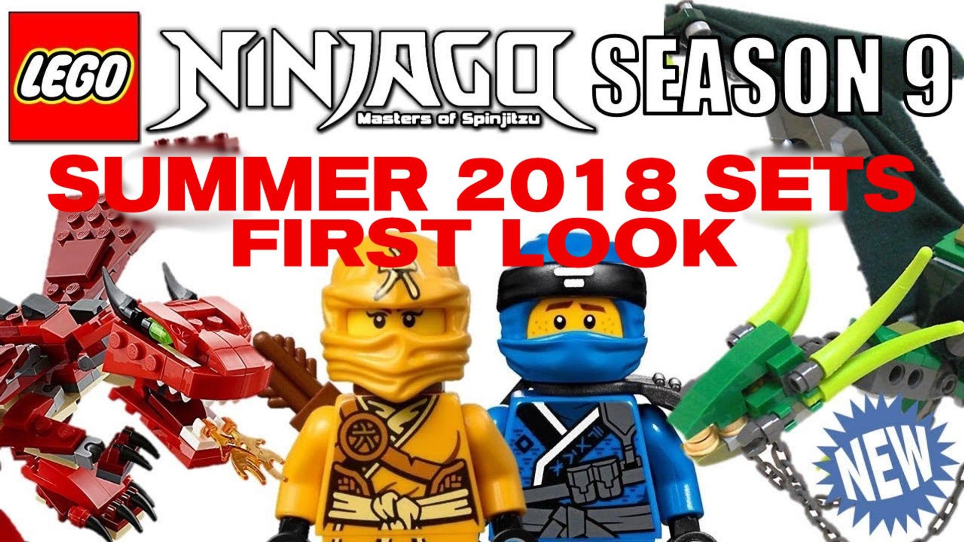 Lego Ninjago 2018 Season 9 Summer Sets First Look Video Dailymotion