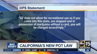 Law enforcement readies for new California marijua
