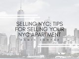 Selling NYC: Tips For Selling Your NYC Apartment | Ramin Kamfar