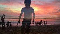 名古屋ホスト社長のインドネシア旅行,バリの海,昼から夜,�