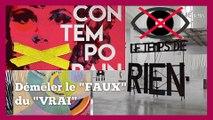 """L'Art contemporain ? Un 'piège à cons' tendu par les """"élites""""..."""