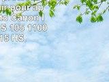 Housse de protection aspect cuir pour appareil photo Canon Ixus 1000 HS 105 1100 HS 115 HS