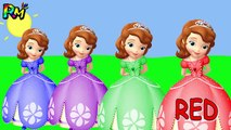 Learn Colors Wrong Lipstick Sofia the first Colors for kids Johny Johny Yes Pap